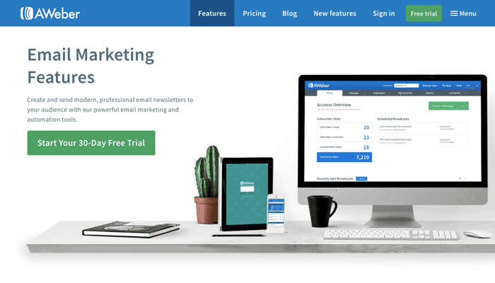 Aweber Email Marketing Platform To Build Your Brand