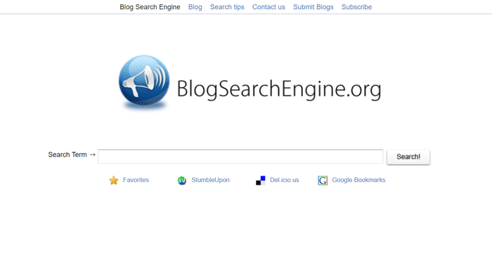 Blog Search Engine for Blogs and Blog Posts Search,