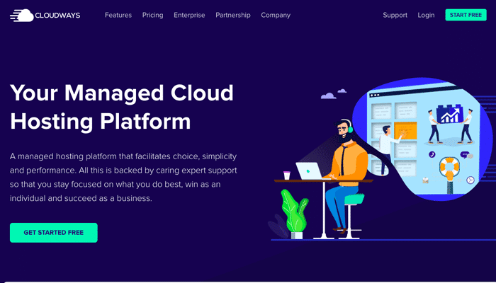 Cloudways - Managed Cloud Hosting for High Traffic sites