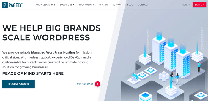 Pagely - Reliable Managed WordPress Hosting