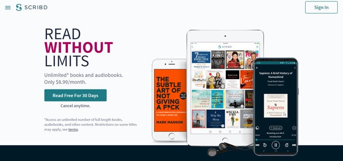 Scribd - Google Alternative Search Engine for Original and Published Work