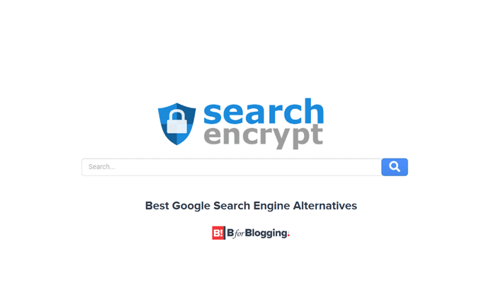 Search Encrypt - A Popular Google Alternative for Secure & Private Search