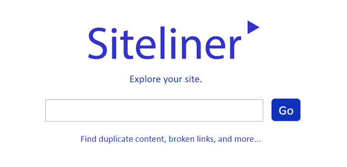 Siteliner - Google Alternatives for Internal Link Checking and Duplicate Content