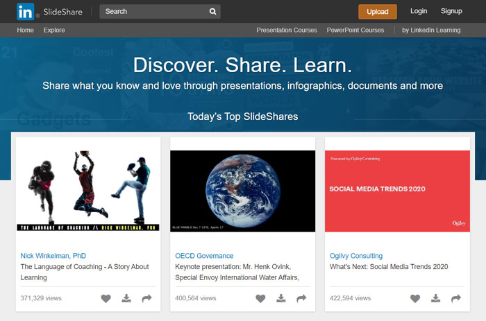 SlideShare - Search Engine for Documents