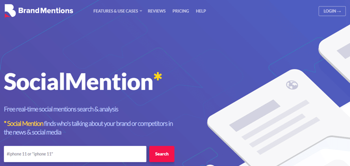 Social Mention - Search Engine Alternative for Social Media Content Search