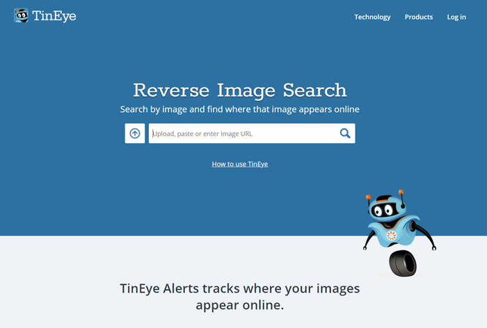 TinEye - Google Image Search Engine Alternative