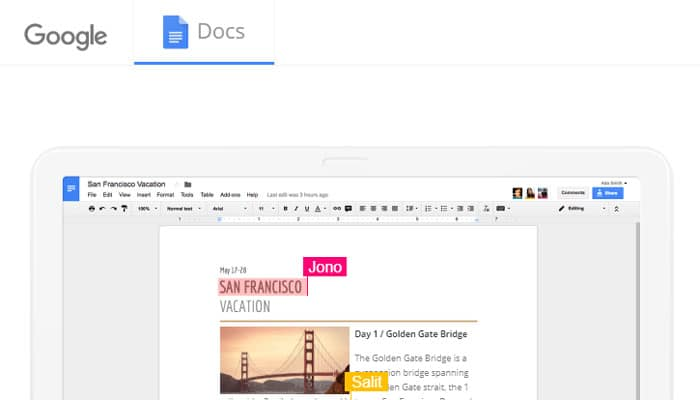 Google Docs - Content Writing Tool for Bloggers