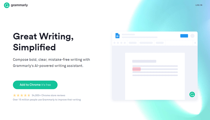 Grammarly Content Writing Tool For Mistake Free Writing