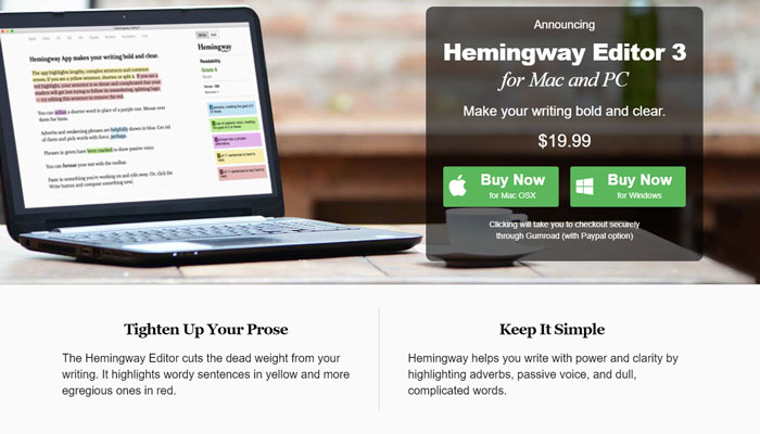 Hemingway Editor Make Your Writing Bold And Clear
