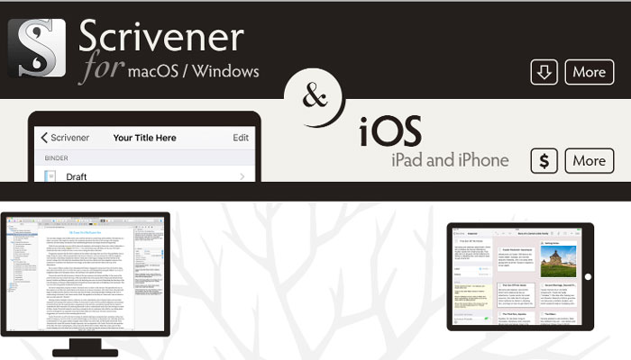 Scrivener Content Writing Tool