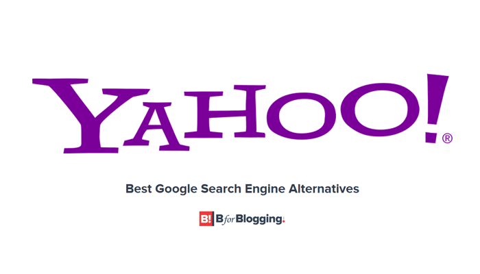 Yahoo - Google Alternative Search Engine