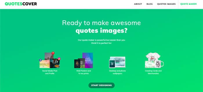 Quotescover.com - Create Images with Quotes