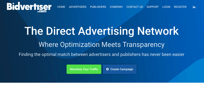 Bidvertiser - Best Bidding Advertising Network and Ad Publishing Service