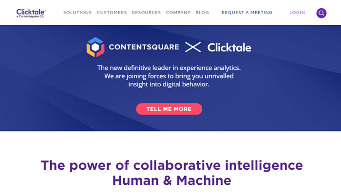 Clicktale: A Digital Experience Analytics Heatmap Tool