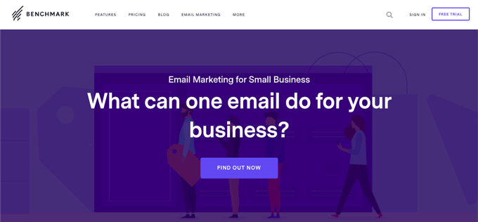 Benchmark - Free Email Marketing Service Recommended For Beginners