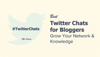 Best Twitter Chats for Bloggers