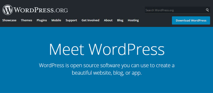 Blog Tool, Publishing Platform, and CMS — WordPress.org