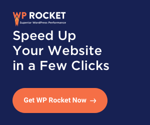 Get WP Rocket WordPress Cache Plugin.
